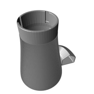 homebase_print_silo_33mm_tall_stl_preview