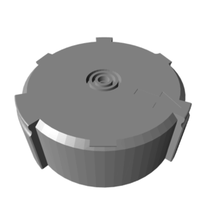 homebase_print_bearing_plug_stl_preview