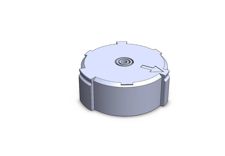Bearing plug